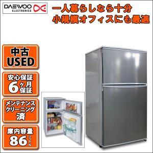 小型冷蔵庫86リットル冷凍冷蔵庫 DRF-91NS/DR-T90AS 大宇 DAEWOO(USED 中古)|mtshopid