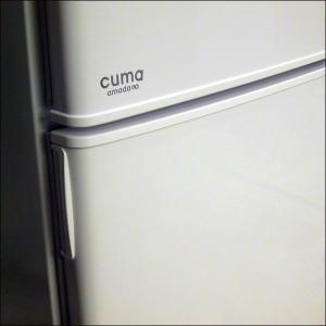 cuma amadana 小型冷蔵庫120リットル冷凍冷蔵庫 CM-RF120 ホワイト (USED 中古)|mtshopid|03