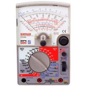 三和電気計器 SANWA アナログマルチテスタ 多機能型 CX506a|mtshopid