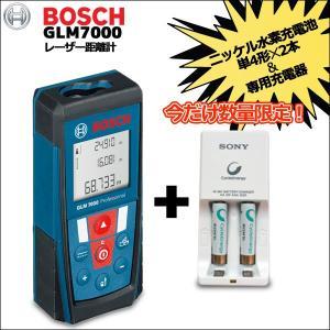 ボッシュ BOSCH レーザー距離計GLM7000+ニッケル水素充電池充電器セット付き mtshopid