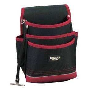デンサン DENSAN 電工プロキャンバスポーチ3段式ポケットタイプ JND-864 mtshopid