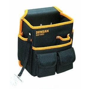 デンサン DENSAN 電工キャンバスバッグテープフッカー付 ND-862|mtshopid