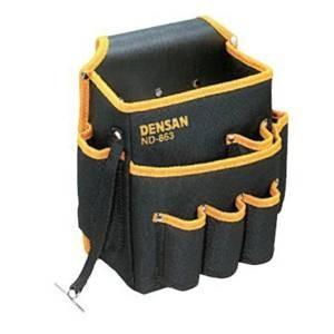 デンサン DENSAN 電工キャンバスバッグテープフッカー付 ND-863|mtshopid