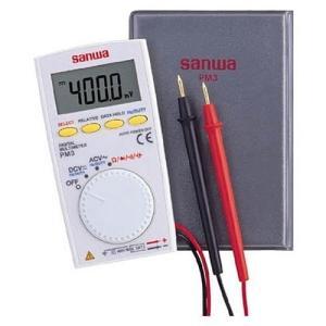 三和電気計器 SANWA ポケット型 デジタルマルチメータ PM3|mtshopid