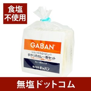 無塩なので減塩されている方におすすめ 食塩不使用 カレーの素 手作りカレーセット 20人分