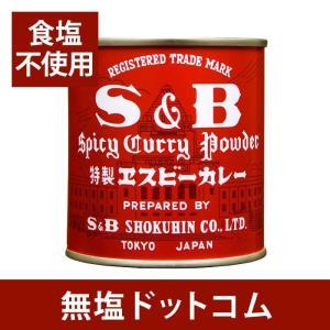 食塩不使用 カレー粉 缶 37g