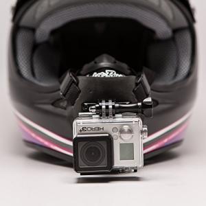 「商品情報」フルフェイスヘルメットGoProに対応する顎マウントは、どのフルフェイスのヘルメットにも...