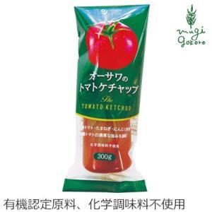 ケチャップ 無添加 オーサワジャパン オーサワのトマト ケチャップ 300g×2個セット ケチャップ  購入金額別特典あり 正規品 国内産|mugigokoro-y