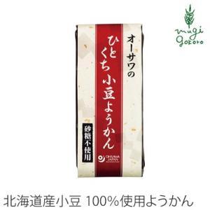 オーサワジャパン オーサワのひとくち小豆ようかん 1本 ようかん 購入金額別特典あり 正規品 無添加 オーガニック|mugigokoro-y