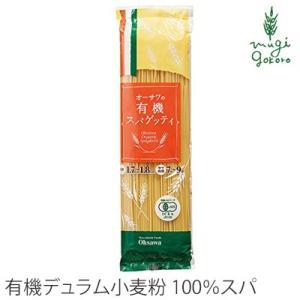 オーサワジャパン オーサワの有機スパゲッティ スパゲティ 購入金額別特典あり 正規品 無添加 オーガニック  無農薬 mugigokoro-y