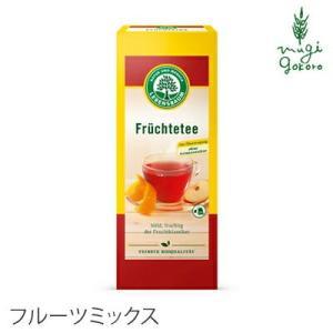 紅茶 ハーブティー オーガニック レーベンスバウム オーガニックハーブティー フルーツミックス 3gx20袋 LEBENSBAUM アップル レモン オレンジ 無農薬 有機|mugigokoro-y