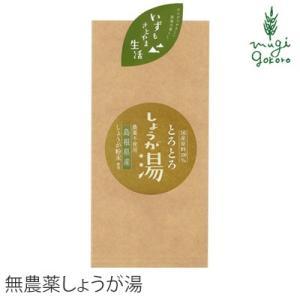 茶 無農薬 茶三代一 農薬不使用 しょうが湯 20g×5袋入 お茶 ちゃさんだい  購入金額別特典あり 正規品 ばん茶 無添加|mugigokoro-y