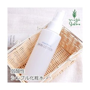 化粧水 無添加 グローバルビューティー スキンローション 120ml オーガニック スキンケア ローション 弱酸性 スプレー 天然 ナチュラル ノンケミカル 自然|mugigokoro-y