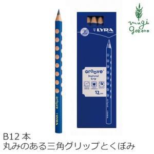 鉛筆 リラ グルーヴ Bグラファイト 1箱(12本入り) 購入金額別特典あり 正規品 オーガニック 送料無料 天然 ナチュラル ノンケミカル 自然|mugigokoro-y