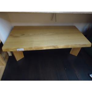 タモ 一枚板 無垢 テーブル オイル仕上げ済 1320×600×55|mukusakura