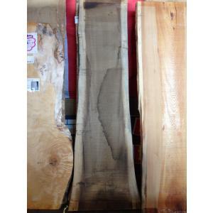 ホオ 朴 一枚板 無垢 テーブル ウレタン塗装 2100×510 - 690×45 mukusakura