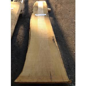 クリ 栗 一枚板 無垢 テーブル 藍染済 2280×400 - 460×45|mukusakura