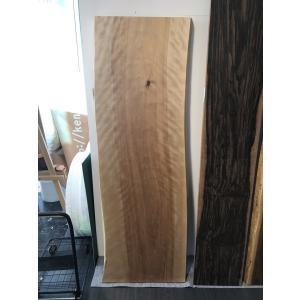 カバザクラ 一枚板 無垢 テーブル 草木染済 1810×570×80|mukusakura
