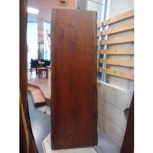 ブラックチェリー 一枚板 無垢 テーブル 草木染済 2010×630×50 mukusakura