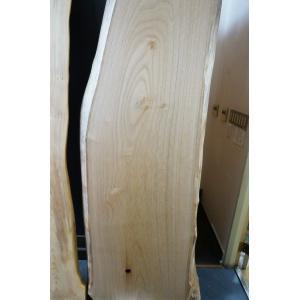 キリ 一枚板 無垢 テーブル オイル仕上げ済 2150×700×85|mukusakura