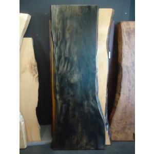 トチ 栃 一枚板 無垢 テーブル 草木染済 1900×550×50|mukusakura