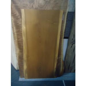 ホオ 一枚板 無垢 テーブル オイル仕上げ済 1340×640×40|mukusakura