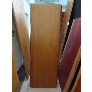 アフリカンチーク 一枚板 無垢 テーブル ウレタン塗装絹肌仕上げ 1900×660×53 mukusakura