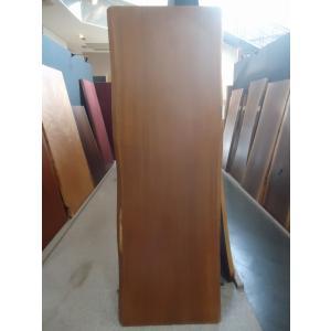 アフリカンチーク 一枚板 無垢 テーブル ウレタン塗装絹肌仕上げ 2000×670×68 mukusakura