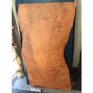 カエデ 楓 一枚板 無垢 テーブル ウレタン塗装済 1500×840×27|mukusakura