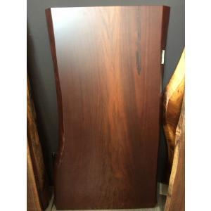 ウォールナット 一枚板 無垢 テーブル ウレタン塗装 2370×710×60|mukusakura
