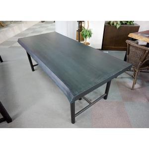 スギ 杉 一枚板 無垢 テーブル 藍染済 1820×770 - 830×56|mukusakura
