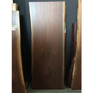 ウォールナット 一枚板 無垢 テーブル ウレタン塗装絹肌仕上げ 1940×740×50|mukusakura