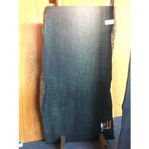 タモ 一枚板 無垢 テーブル 藍染済 1600×840×50|mukusakura