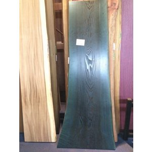 スギ 杉 一枚板 無垢 テーブル 藍染済 1900×550×35|mukusakura