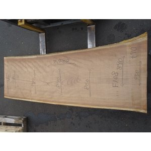 キハダ 一枚板 テーブル 原板 2480×780×70 mukusakura