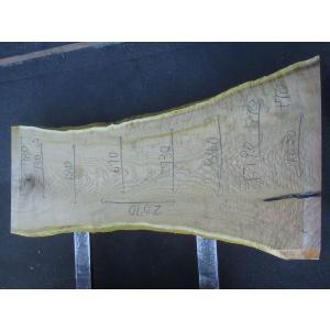 キハダ 一枚板 テーブル 原板 2070×670×70 mukusakura