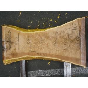 キハダ 一枚板 テーブル 原板 1590×460×65 mukusakura