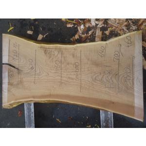 キハダ 一枚板 テーブル 原板 1520×580×60 mukusakura