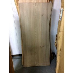 ジンダイニレ 楡 一枚板 無垢 テーブル 削り仕上げ 1530×700×48|mukusakura