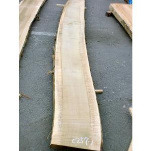 ホオ 朴 一枚板 無垢 テーブル 粗削り 1920×490×55 mukusakura