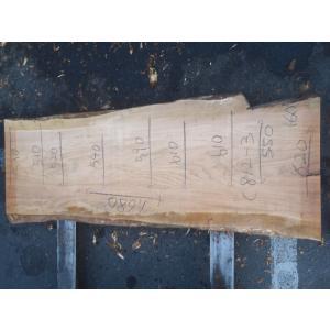 ヤマザクラ 一枚板 無垢 テーブル 原板 1680×510 - 620×60 mukusakura