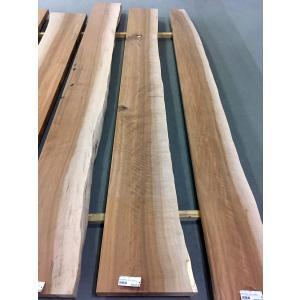 アサダ 一枚板 無垢 テーブル 削り仕上げ 2870×330×70|mukusakura