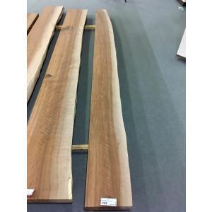 アサダ 一枚板 無垢 テーブル 削り仕上げ 2900×270×78|mukusakura
