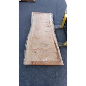 ケヤキ 欅 一枚板 無垢 テーブル 削り仕上げ 2130×910×58|mukusakura