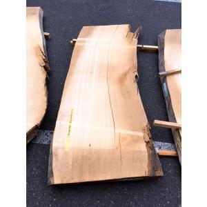 ヒノキ 桧 一枚板 無垢 テーブル 粗削り 1950×680×77 mukusakura