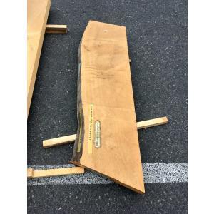 ヒノキ 桧 一枚板 無垢 テーブル 粗削り 1440×420×83 mukusakura