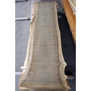 ホオ 朴 一枚板 無垢 テーブル 原板 2790×670 - 820×65 mukusakura