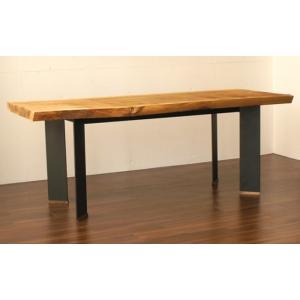 テーブル脚 TASシリーズ アイアン脚 TAS-02 D600 1700x600x650|mukusakura