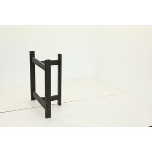 テーブル脚 TASシリーズ アイアン脚 TAS-07 700x300x650 サンドブラック|mukusakura|02