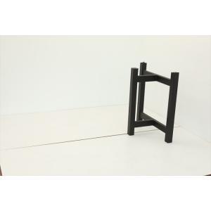 テーブル脚 TASシリーズ アイアン脚 TAS-07 700x300x650 サンドブラック|mukusakura|03